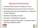 museum partnership