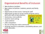 organizational benefits of inclusion