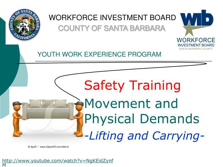 WORKFORCE INVESTMENT BOARD