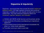 dopamine impulsivity