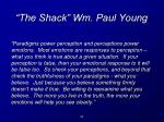the shack wm paul young