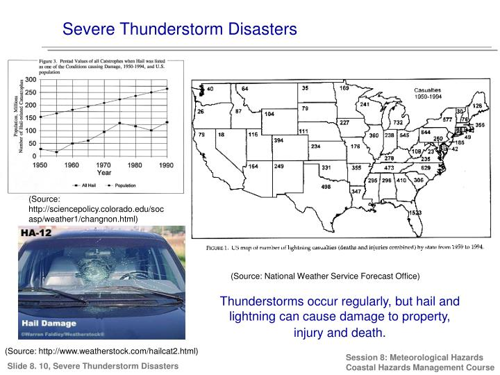 Severe Thunderstorm Disasters