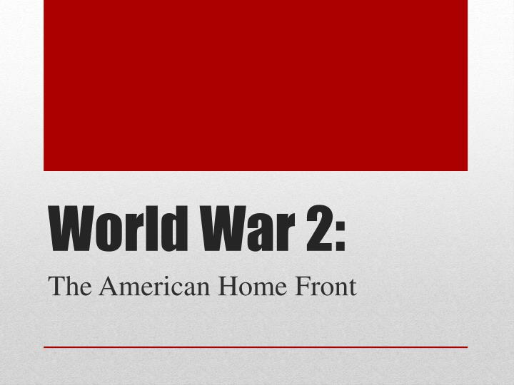 world war 2 n.