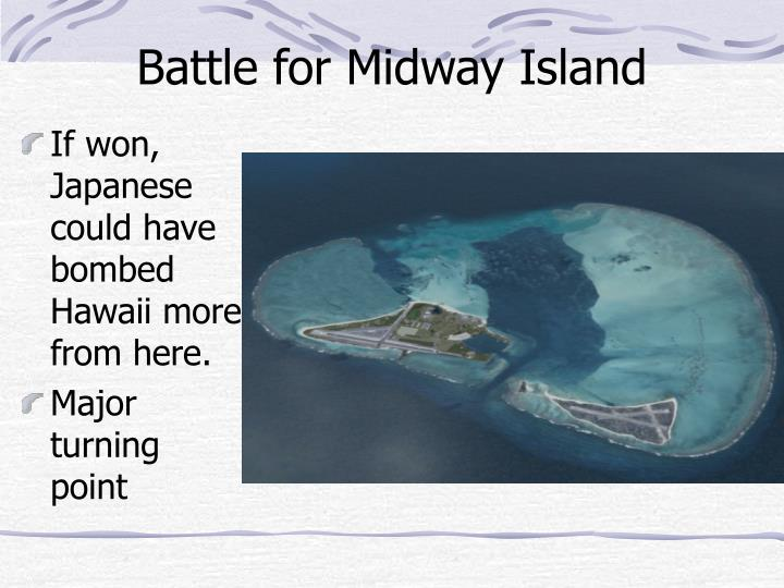 Battle for Midway Island