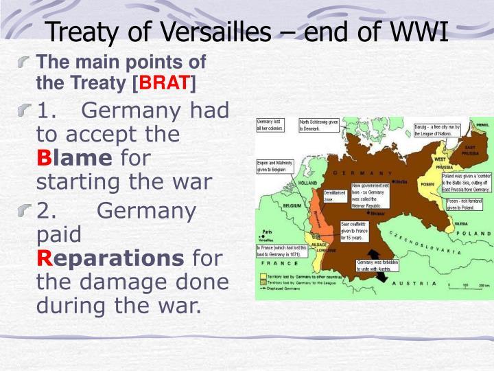 The main points of the Treaty [