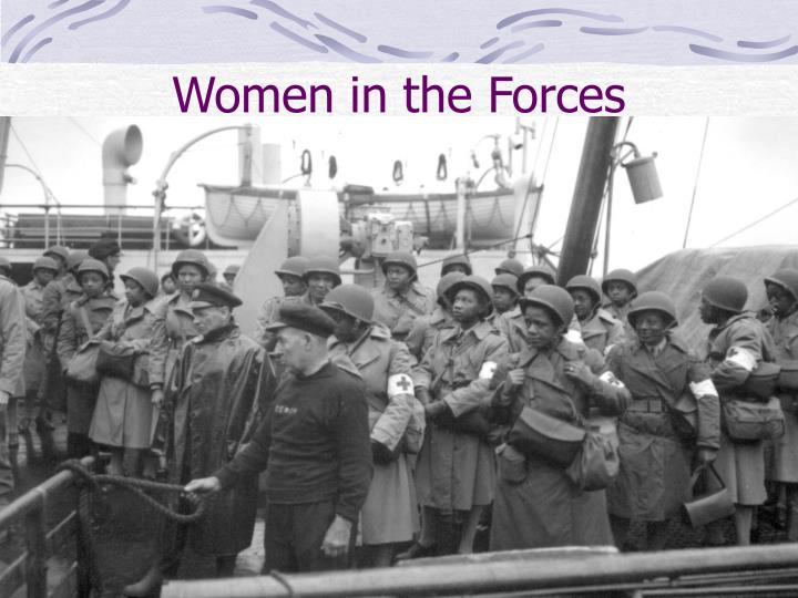 Women in the Forces