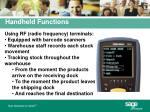 handheld functions