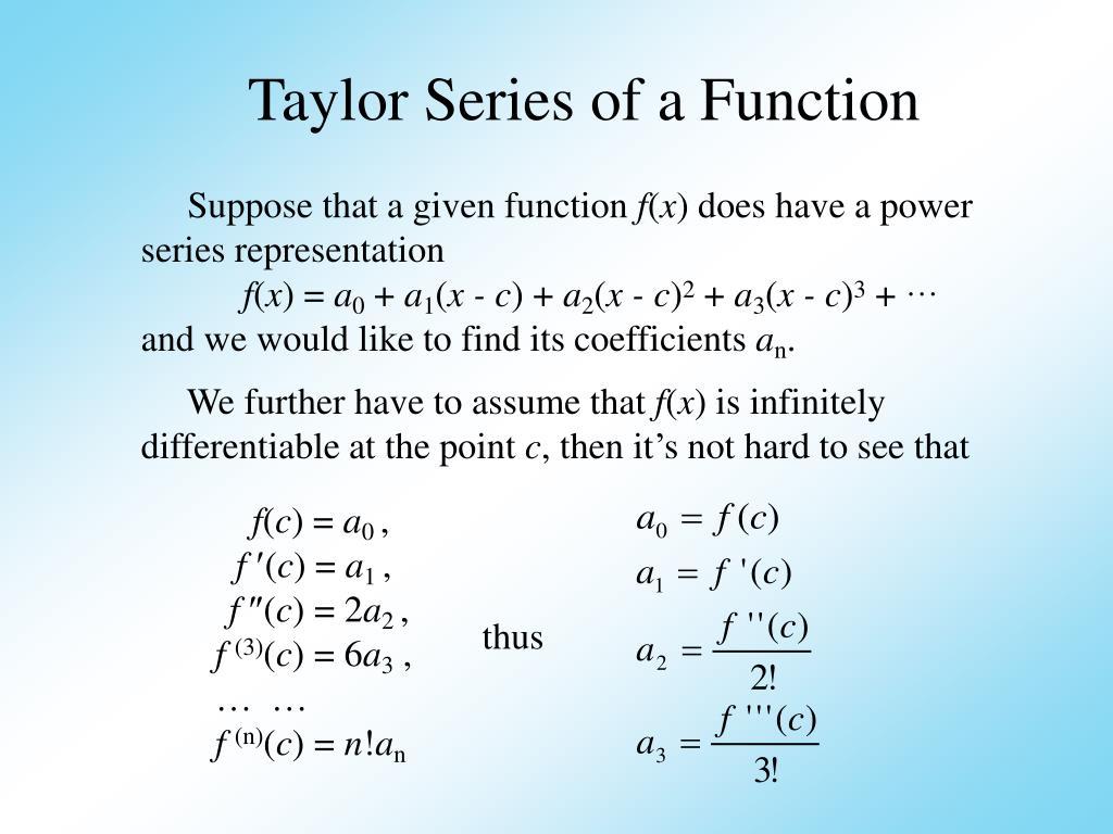 PPT - Power Series PowerPoint Presentation - ID:6730295