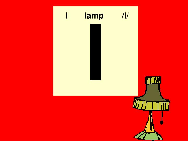 llamp /l/