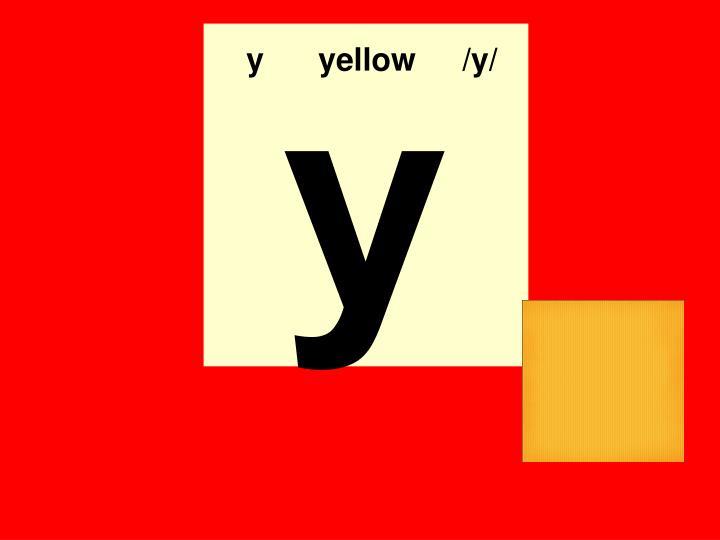 yyellow/y/
