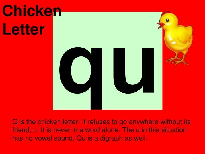Chicken Letter