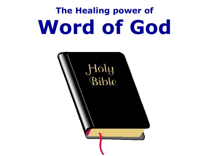 the healing power of word of god n.