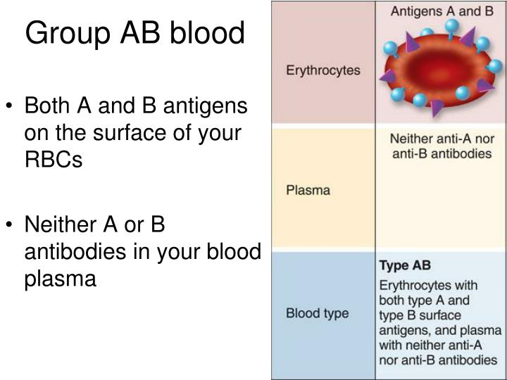 Group AB blood