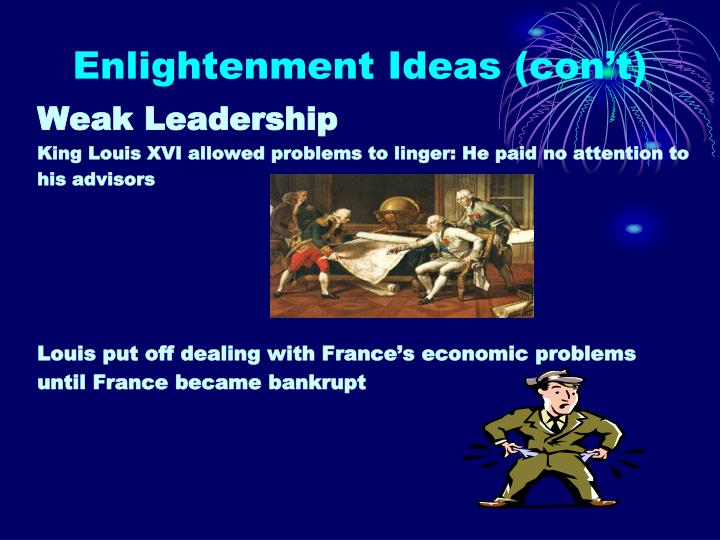 Enlightenment Ideas (con't)
