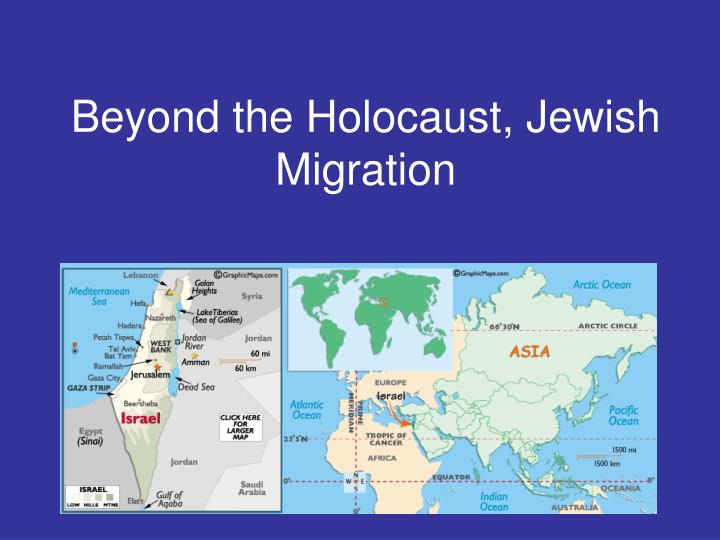 Beyond the holocaust jewish migration