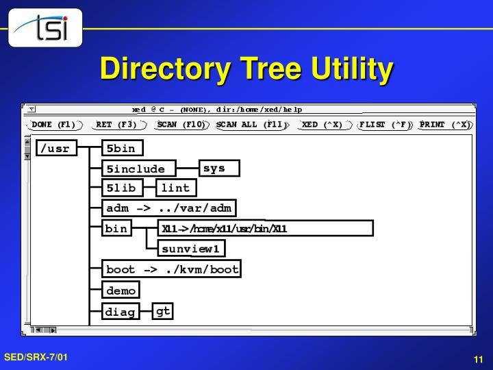 Directory Tree Utility