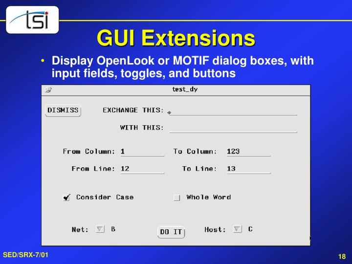 GUI Extensions