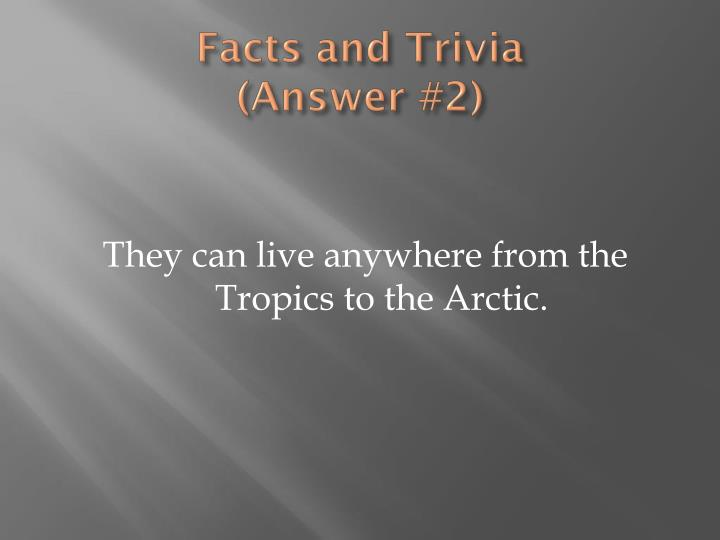 Facts and Trivia