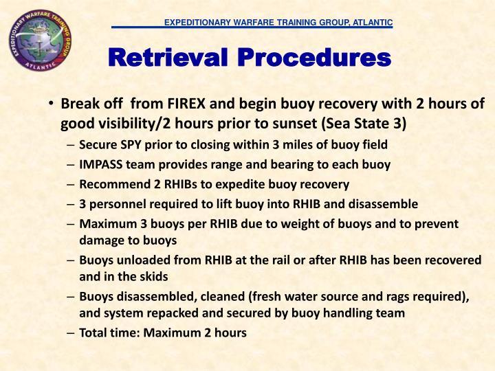 Retrieval Procedures