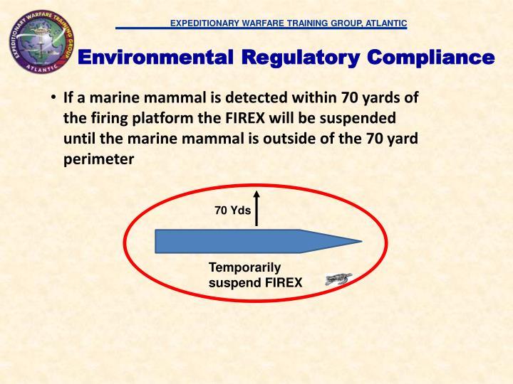 Environmental Regulatory Compliance