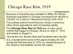 chicago race riot 1919