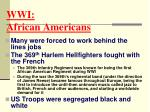 wwi african americans