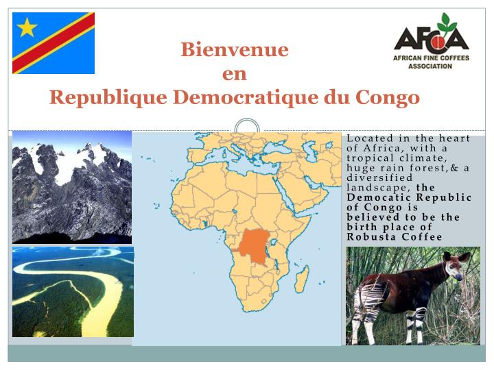Bienvenue en republique democratique du congo