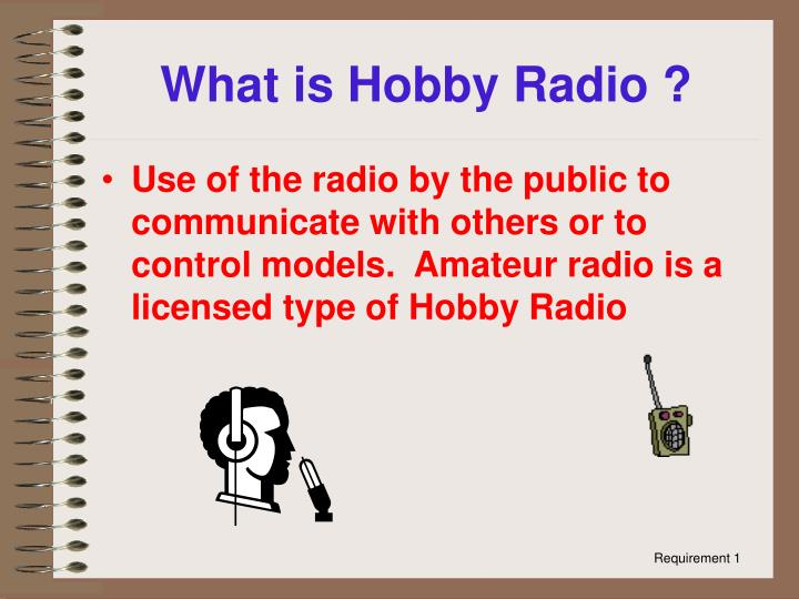 What is Hobby Radio ?
