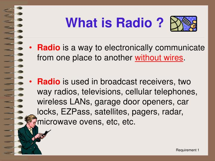 What is radio