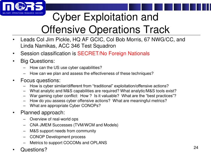 Cyber Exploitation and