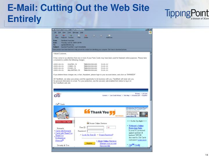 E-Mail: Cutting Out the Web Site Entirely