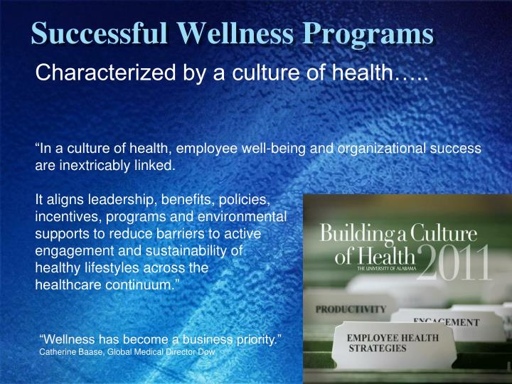 Successful Wellness Programs