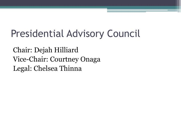 Presidential Advisory Council