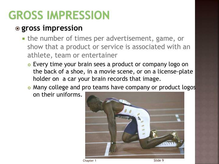Gross Impression