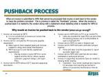pushback process