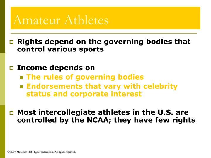 Amateur Athletes