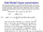 add model hyper parameters