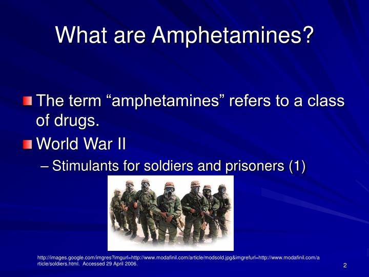 What are amphetamines