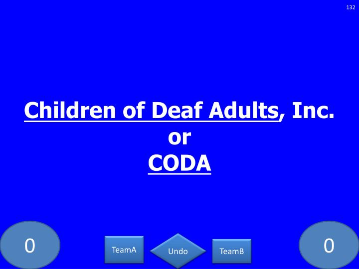 Children of Deaf Adults