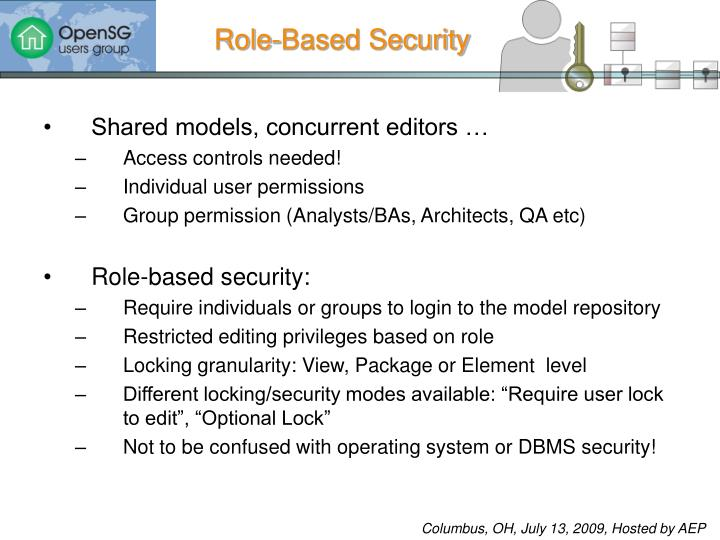 Role-Based Security