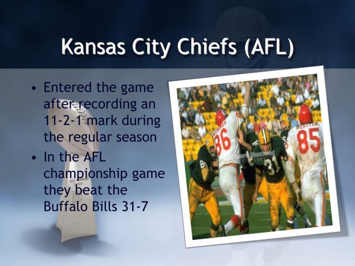 Kansas City Chiefs (AFL)
