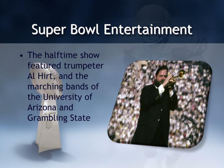 Super Bowl Entertainment