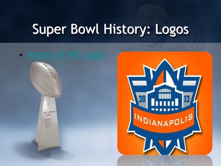 Super Bowl History: Logos
