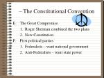 the constitutional convention1