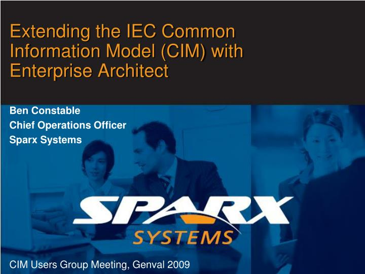 Extending the IEC Common Information Model (CIM) with