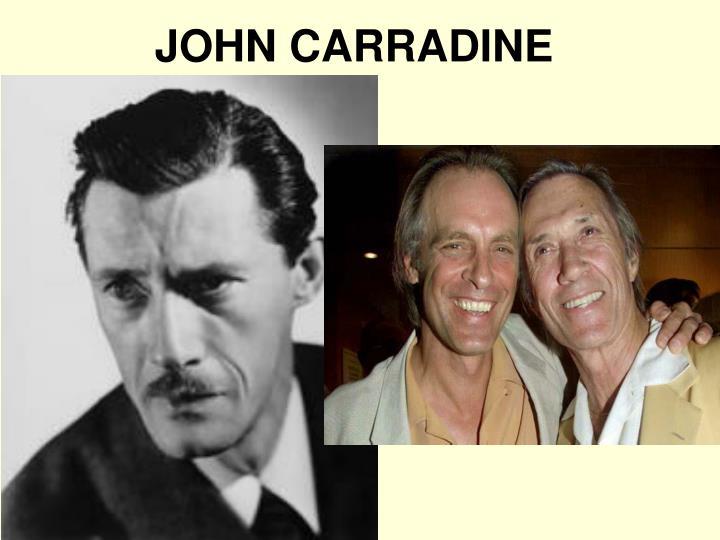 JOHN CARRADINE