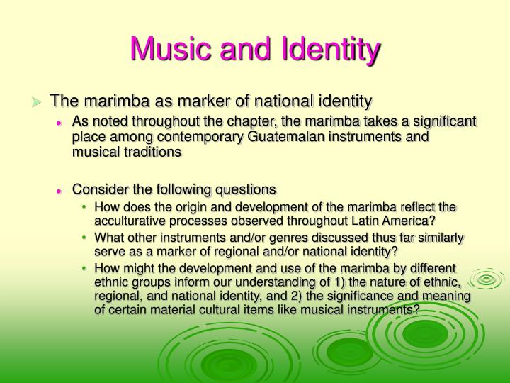Music and Identity