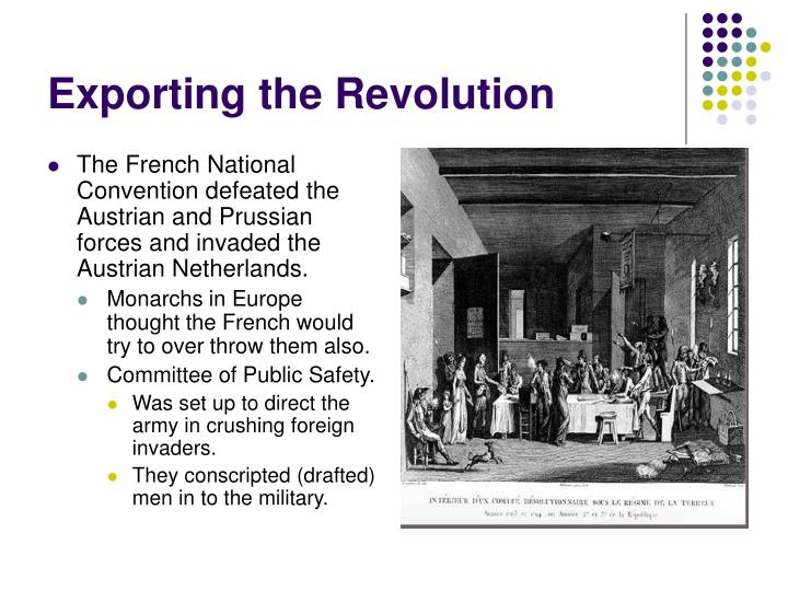 Exporting the Revolution