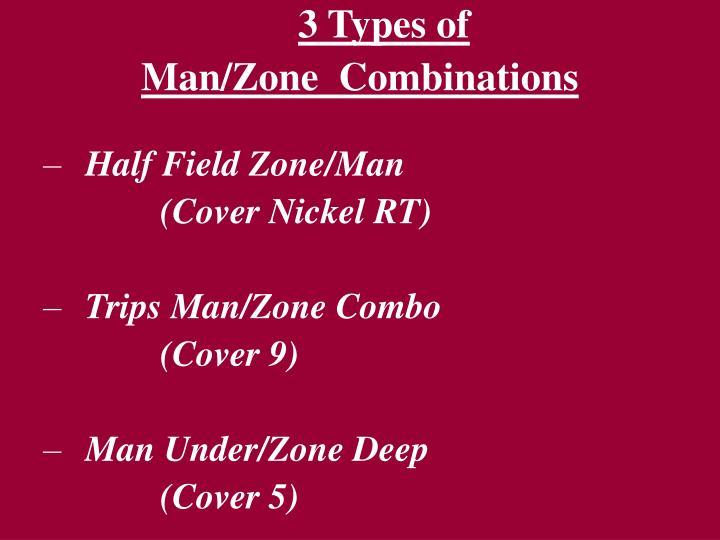 3 Types of