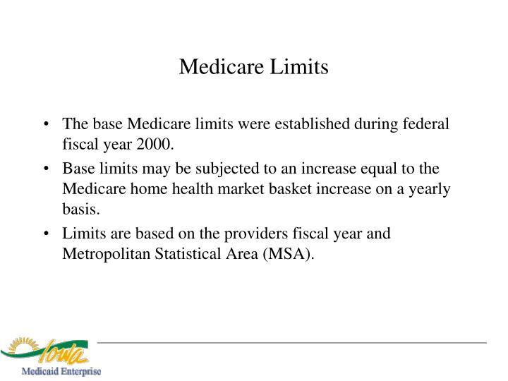 Medicare Limits